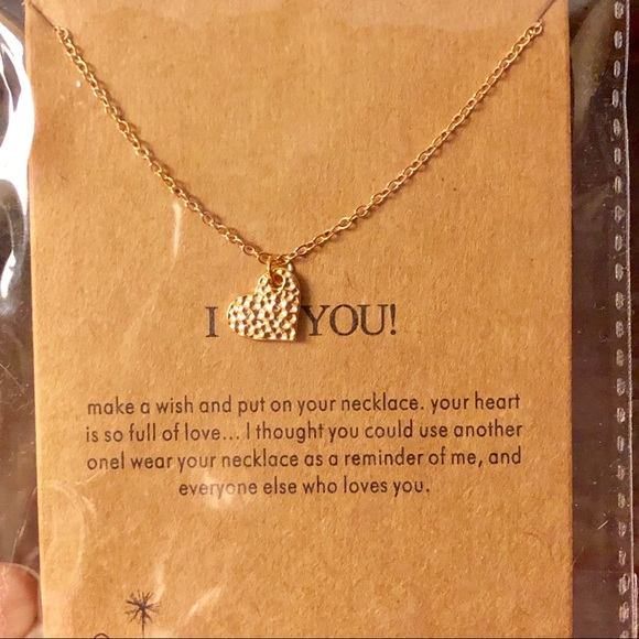 Jewelry - I love you! Necklace